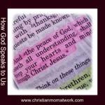 How God Speaks to Us