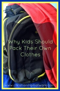 Why Kids Should Pack