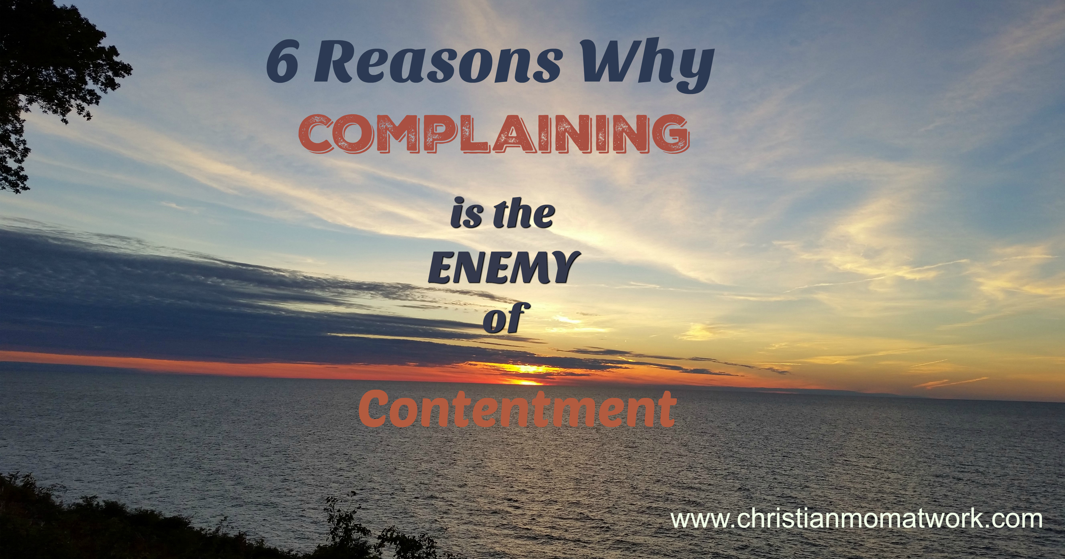 How to Stop Complaining (Christianity) photo