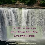 5 Bible Verses for When You Are Overwhelmed